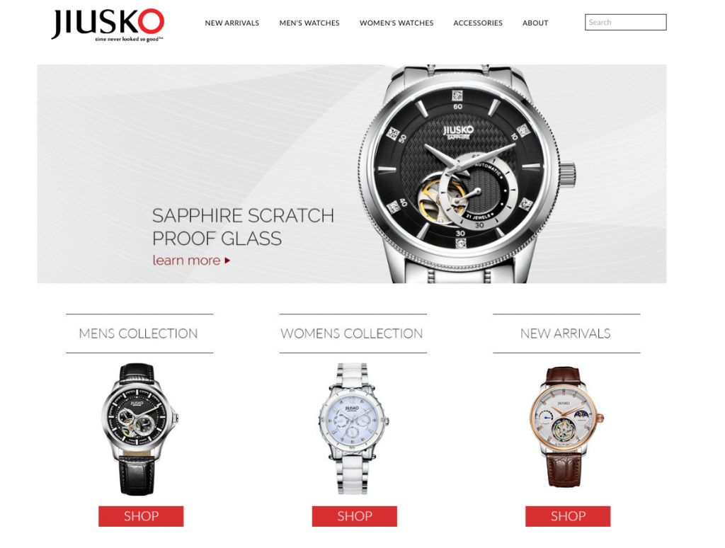 Quality watch designs on Shopify 1024x774