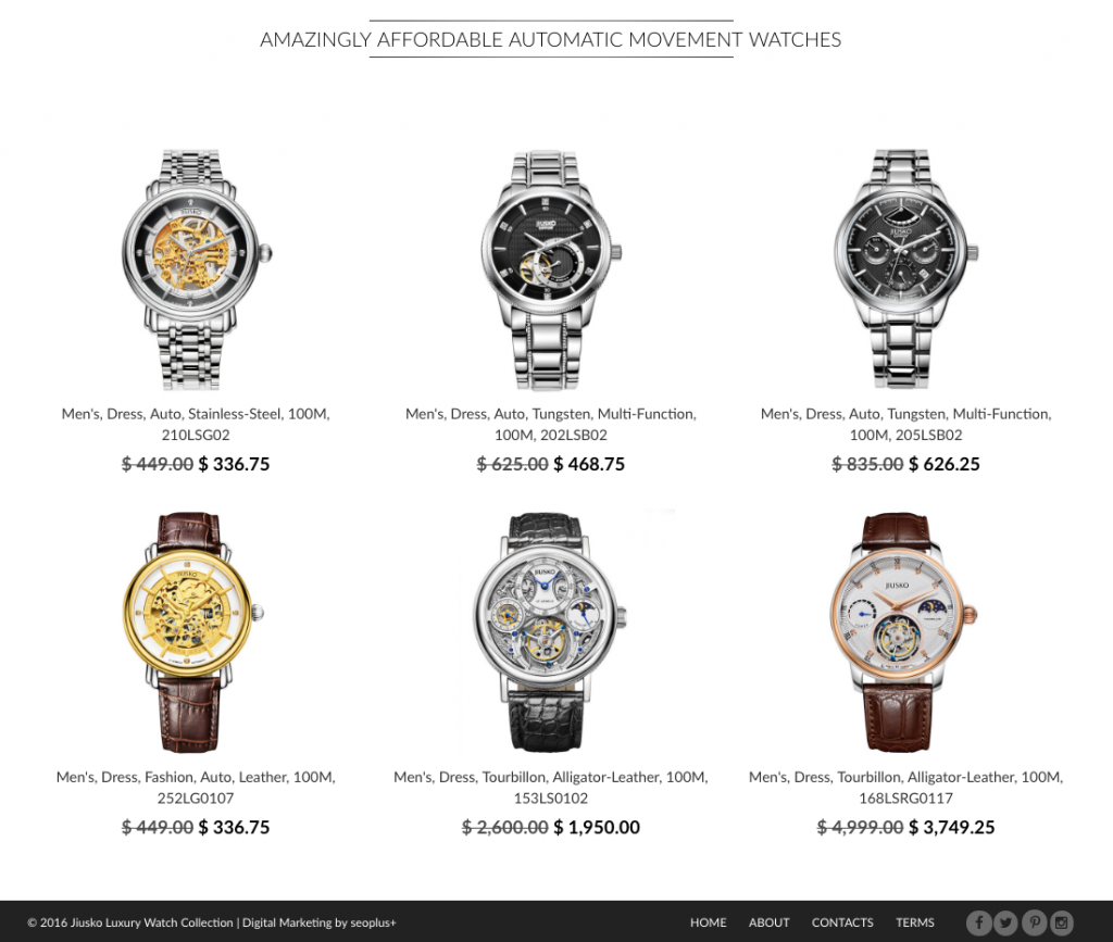 Shopify developers for watch stores 1024x867