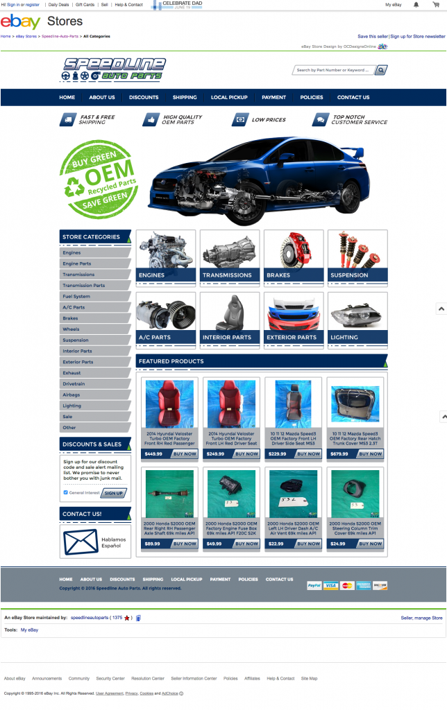 Speedline Auto Parts Clean Ebay Design Ocdesignsonline