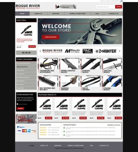 ebay store design for tactical company