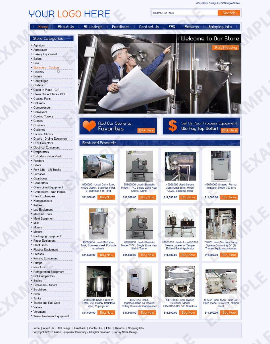 Trunu ebay store design any industry theme 1262 ocdesignsonline for Ocdesignsonline
