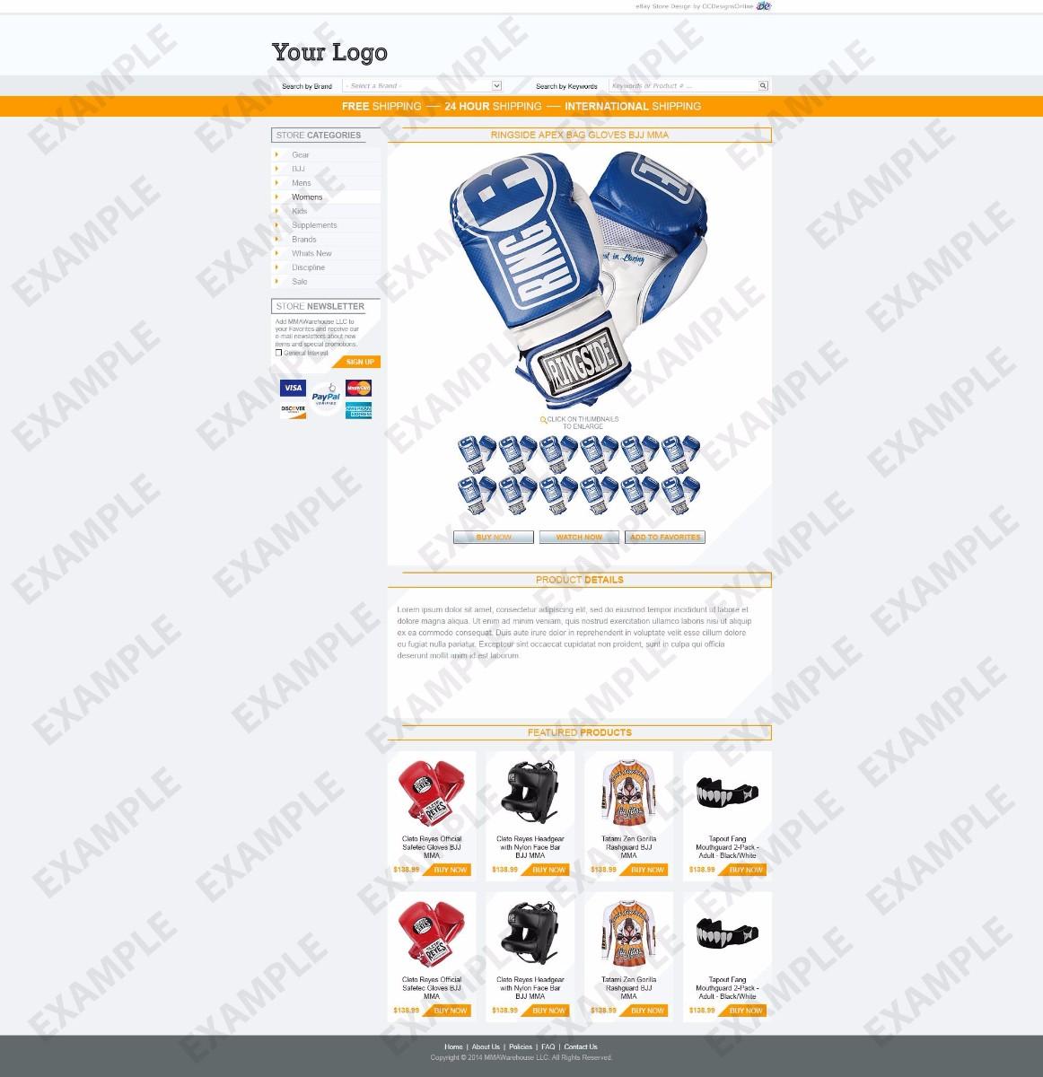Blogshots ebay store design apparel shoes theme 1273 ocdesignsonline for Ocdesignsonline