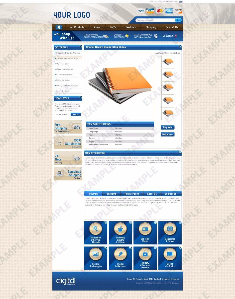 Tander ebay template any industry theme 1286 ocdesignsonline for Ocdesignsonline