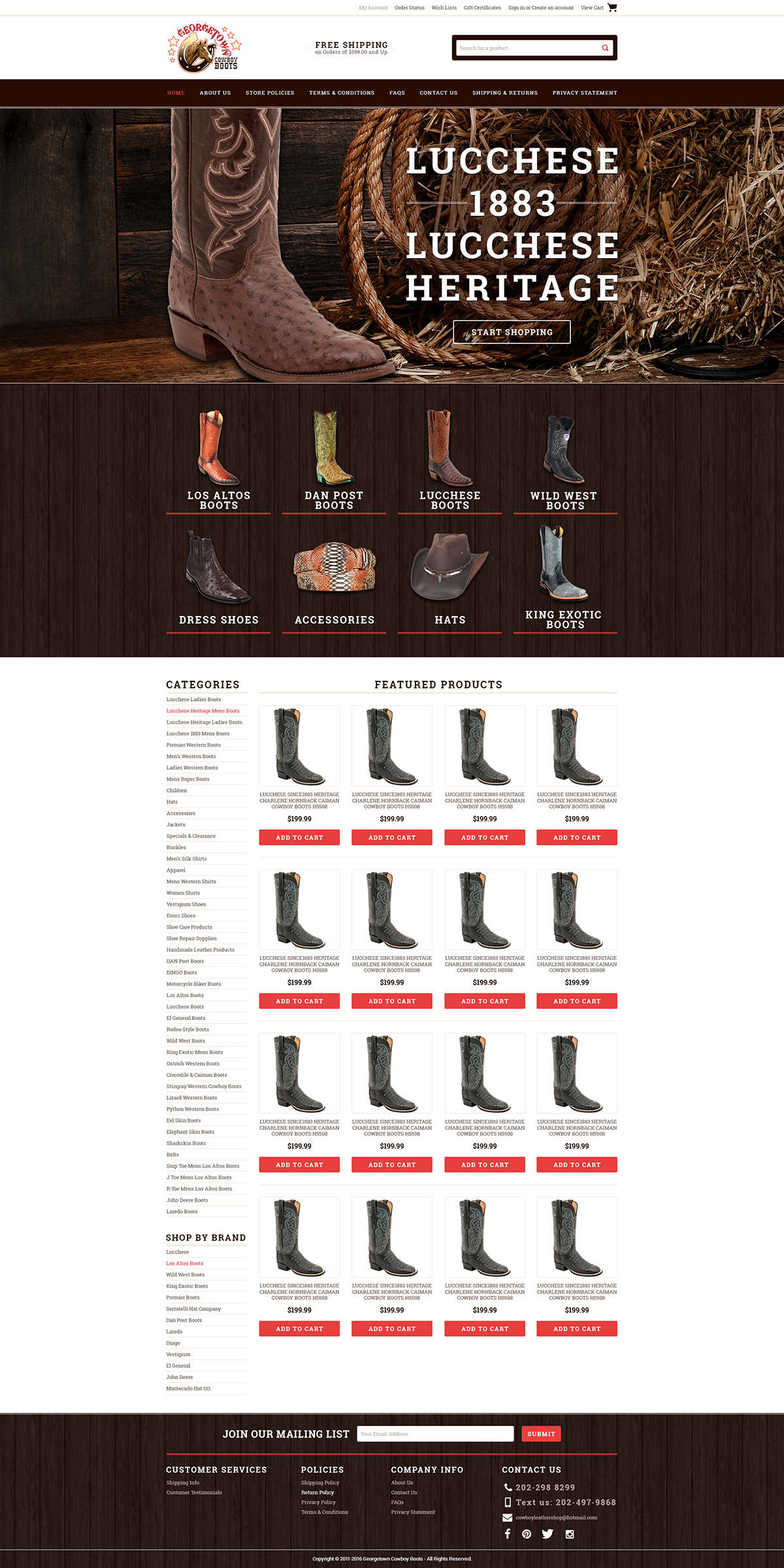 GeorgetownCowboyBoots custom bigcommerce template