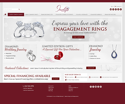 Jewelry for less bigcommerce custom design