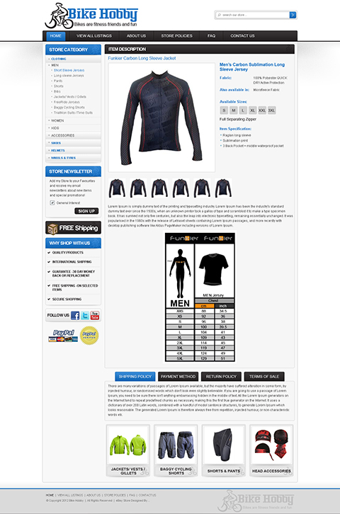 ebay templates and ebay template design mobile ocdesignsonline. Black Bedroom Furniture Sets. Home Design Ideas