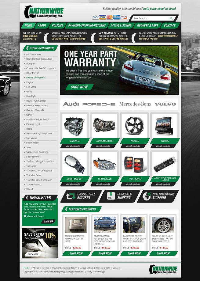 Ebay Listing Template Design Services Responsive Html Templates Design