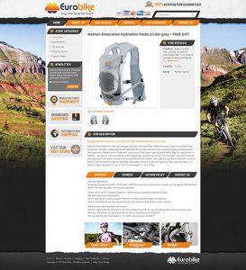 Eurobike custom eBay template