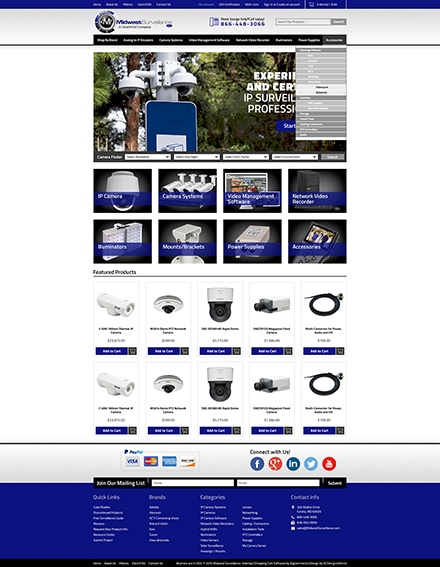 Midwest custom bigcommerce theme