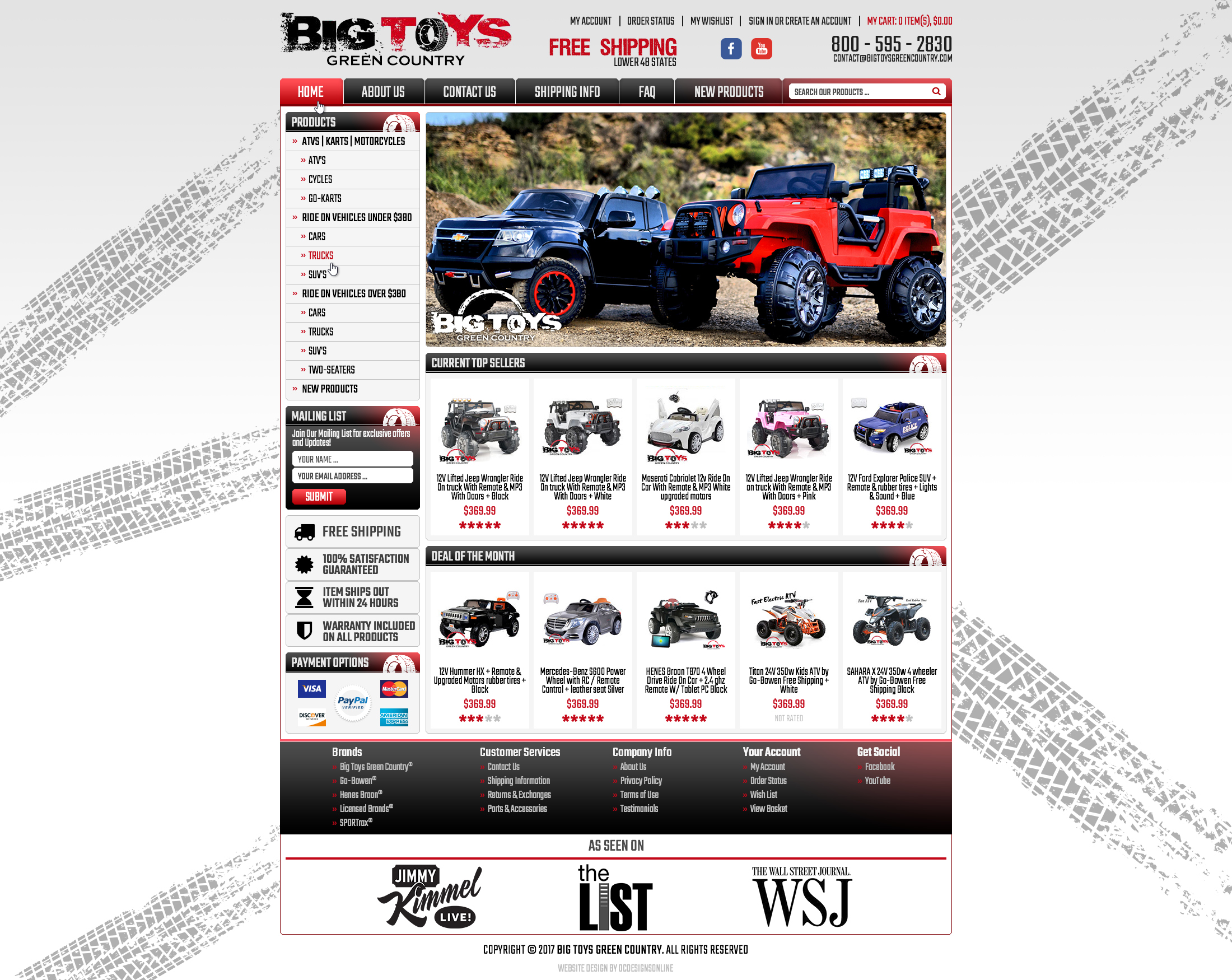Big Toys Green Country BigCommerce store 03