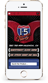 I 5 Classic Chevy Bigcommerce Theme mobile