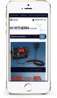 Northern Marine Bigcommerce Theme Design mobile
