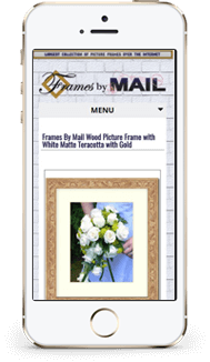 Frames by Mail custom eBay design mobile