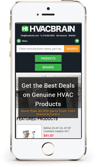 HVAC Custome bigcommerce theme mobile