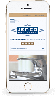 Jenco custom shopify theme design mobile