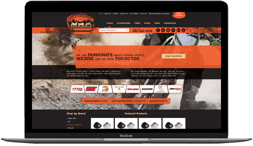 Ocala Powersprots custom bigcommerce theme