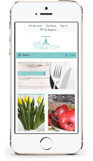 One Table Top Shopify Theme mobile