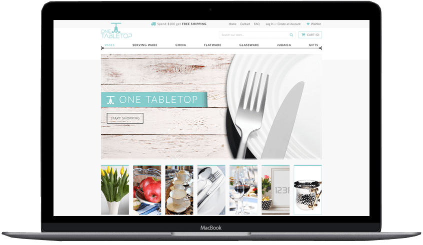 One Table Top Shopify Theme