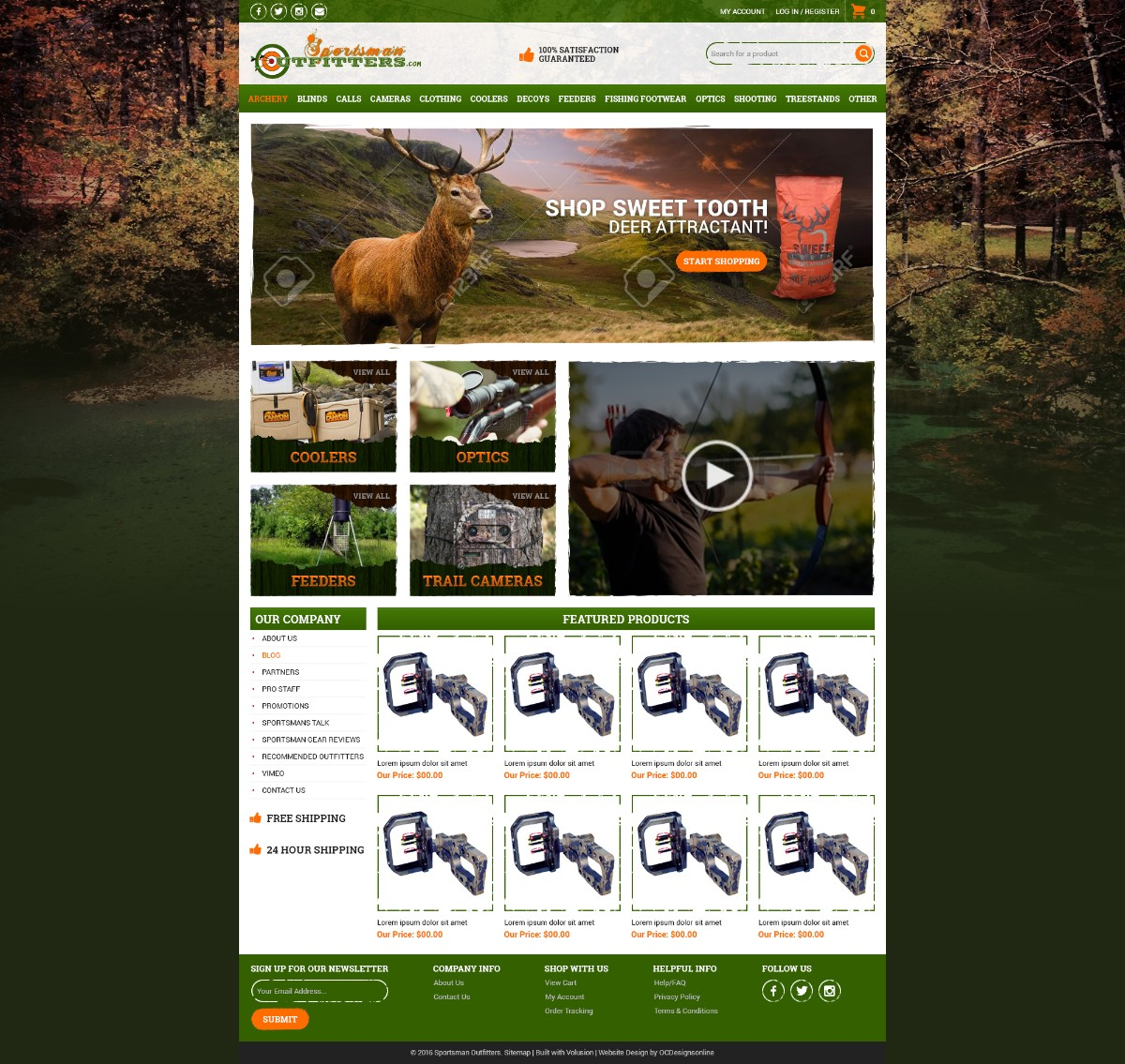 SportsmanOutfitters Responsive Volusion Store V4