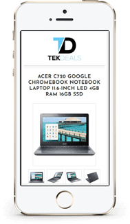 Tech Deals custom ebay store and listing template design mobile