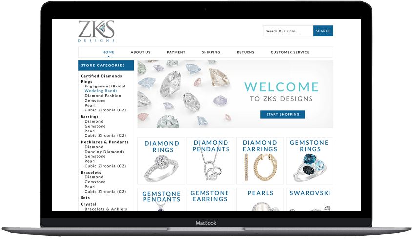 ZKS eBay store and listing template