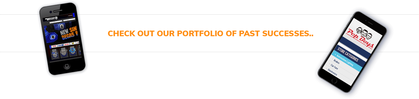 Check out our portfolio of past successes