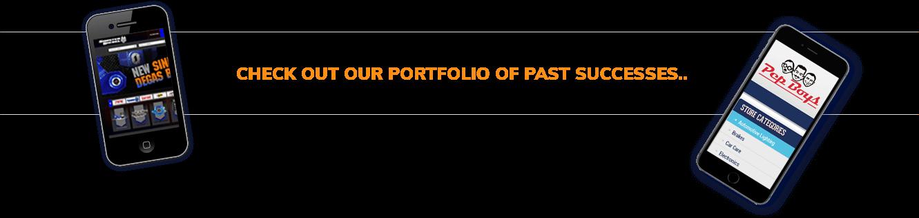 Check out our portfolio of past successes