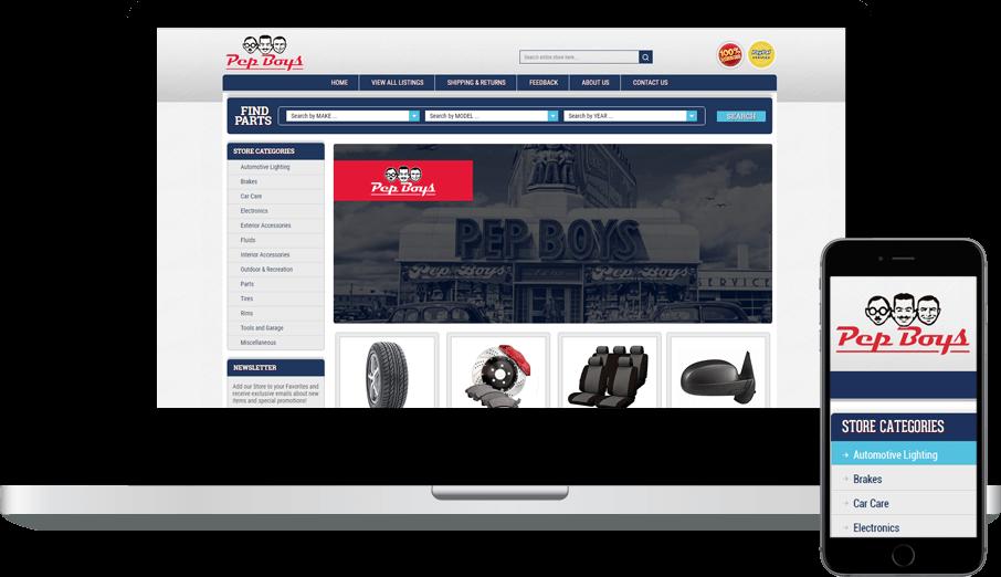 eBay Automotive or Powersports Store