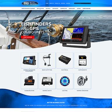 BBG Marine ebay store design