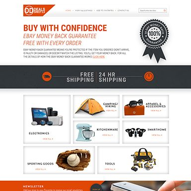 Direct Deals ebay store design