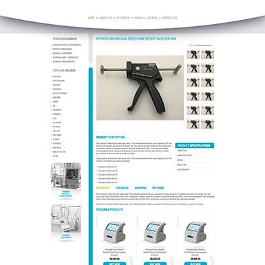 Primis Medical ebay listing template design