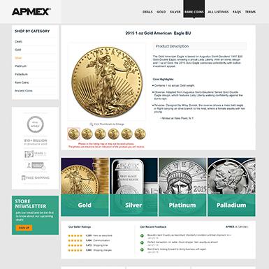 apmex list 385